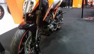 KTM Duke 125 & KTM RC390 at the Osaka Motorcycle Show 2017