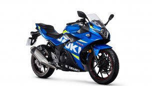 Suzuki GSX250R starts arriving at UK dealerships