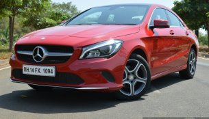 2017 Mercedes CLA (facelift) - Review
