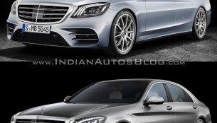 2017 Mercedes S-Class vs. 2013 Mercedes S-Class - Old vs. New
