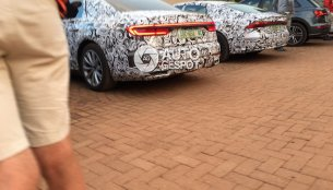 Taillight designs of the next-gen Audi A8 & Audi A7 clear in new spyshots