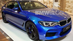 2018 BMW M5 (F90) to offer AWD, AWD Sport and RWD modes - Report