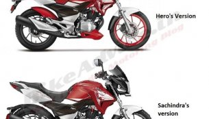 Enthusiast adds a bit of aggression to the Hero Xtreme 200S - Rendering