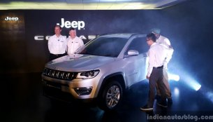 India-made Jeep Compass unveiled - In 18 Images