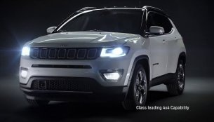 Indian-spec 2017 Jeep Compass officially revealed [Video]