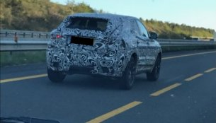 Jaguar E-Pace (BMW X1 rival) spied testing in France