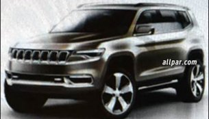 Jeep K8 SUV concept revealed in leaked sketches