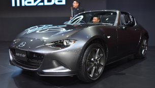 Mazda MX-5 RF showcased at BIMS 2017