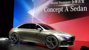 Mercedes Concept A Sedan unveiled - In Images