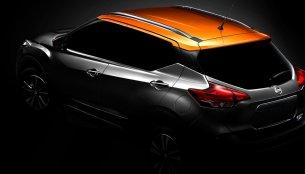 India-bound Nissan Kicks teased in China