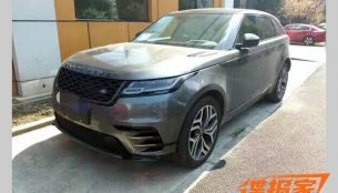 Range Rover Velar spotted outdoors ahead of its H2 2017 launch