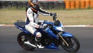 TVS Apache RTR 200 Track Experience - IAB Report