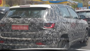 3 IAB readers share spy shots of the Jeep Compass on test