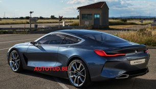 BMW 8 Series concept leaks hours ahead of its debut