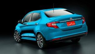 Fiat Argo Sedan (Fiat X6S) - Rendering