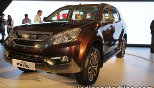 Price of Isuzu MU-X, Isuzu D-Max V-Cross slashed by INR 1.5 lakh