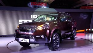 Isuzu MU-X launched in India at INR 23.9 Lakhs