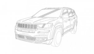 Jeep seven-seat SUV revealed in leaked patent images