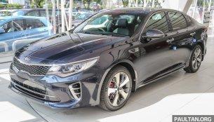 Kia Optima GT bookings commence in Malaysia