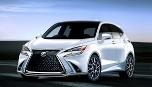 Lexus could make a city car with BMW - Rendering