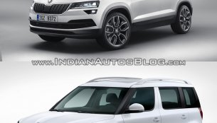 Skoda Karoq vs. Skoda Yeti - Old vs. New