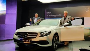 2017 Mercedes E 220 d LWB launched in India at INR 57.14 Lakhs (Updated)