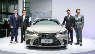2018 Lexus LS 350 variant unveiled in China