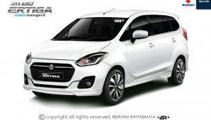 Suzuki Indonesia official confirms next gen Maruti Ertiga for H1 2018 - Report