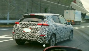 India-bound 2018 Nissan Leaf shows its tail lamps & window frame in spyshots