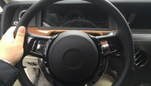 2018 Rolls-Royce Phantom interior spied for the first time