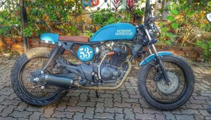Hero Karizma cafe racer by Incendiary Motorcycles