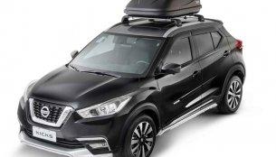 India-bound Nissan Kicks gets new accessories in Brazil