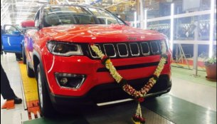 India-made RHD Jeep Compass rolls out of Ranjangaon facility