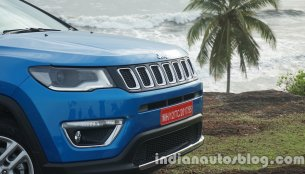 Jeep Compass receives 1,000 bookings in India