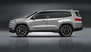 7-seat Jeep vehicle rendered based on patent leaks