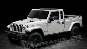 New details and info-based renders of the Jeep Wrangler Pickup