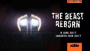 KTM Indonesia teases the 2017 KTM Duke ahead of June 8 launch