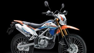 2017 Kawasaki KLX 150 range launched in new colours - Indonesia