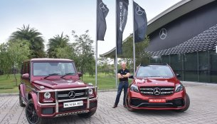 Mercedes AMG G 63 Edition 463 & Mercedes AMG GLS 63 launched in India