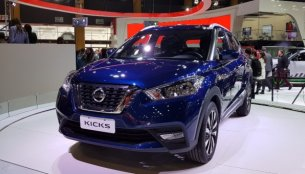 India-bound Nissan Kicks displayed in Argentina - In Images