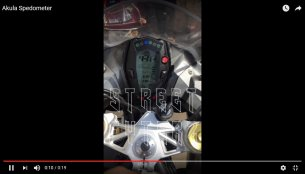 TVS Apache 310 instrumentation booting [Video]