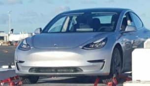 Tesla Model 3 spotted outside the USA for the first time
