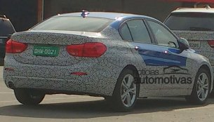 BMW 1 Series Sedan spotted in Brazil