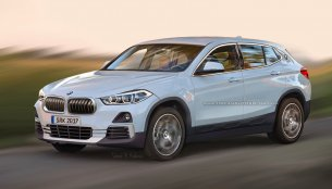Production BMW X2 rendered based on patent image