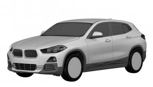 Production BMW X2 leaked in patent images