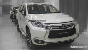 Mitsubishi Pajero Sport to get interior changes in Indonesia