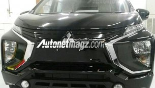 Mitsubishi Expander spied undisguised for the first time