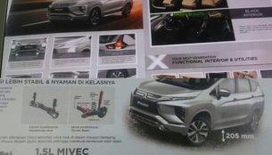 Mitsubishi Xpander brochure leaked