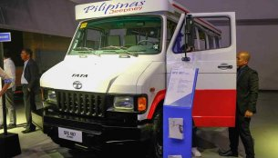 Tata SFC 407 Jeepney concept introduced in Philippines