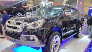 Isuzu MU-X facelift & Isuzu MU-X off-roader - GIIAS 2017 Live